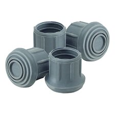 <strong>Lumex</strong> Replacement Tips for Commodes (Set of 4)