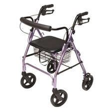 Walkabout Four-Wheel Contour Deluxe Rolling Walker
