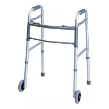 <strong>Lumex</strong> Everyday Dual Release Walker w/ Wheels