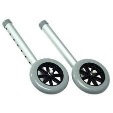 Fixed Walker Wheels (Set of 2)