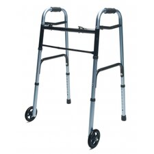<strong>Lumex</strong> Adult Walker with Wheels