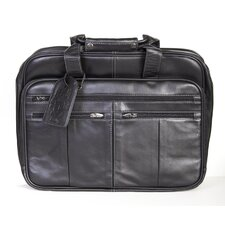 <strong>Scully</strong> Leather Laptop Briefcase