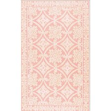 Romantic Chic Romantic Lace Rose Rug
