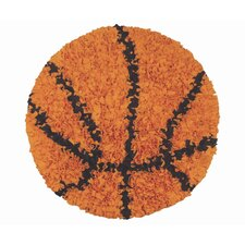 Shaggy Raggy Basketball Kids Rug
