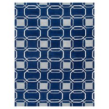 Westover Navy Blue / Gray Rug