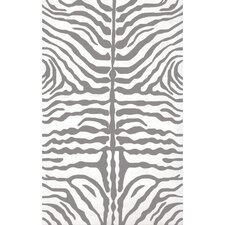 Zebra Grey Outdoor Rug