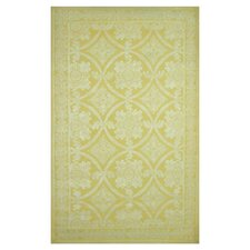 Romantic Chic Romantic Lace Yellow Rug