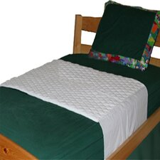 Saddle Style Mattress Pad for Twin Bed