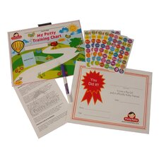 Potty Patty Potty Training Chart and Reward Sticker Set