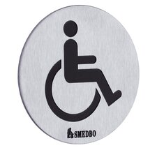 Restroom Handicapped Sign