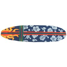 Surfboard - Navy Rug