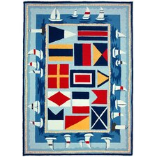 Sailing The Lakes Rug