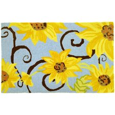 Sunflower Swirl Rug