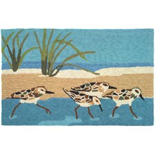 Oceanside Sandpipers Rug