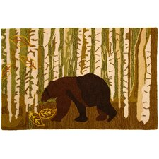 Birch And Bear Rug