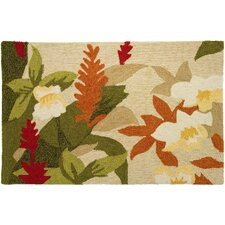 Floral and Garden Exotic Beauty Rug