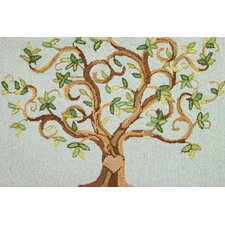 Love Tree Novelty Rug