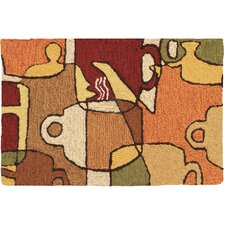 <strong>Homefires</strong> Coffee Collage Novelty Rug
