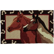 <strong>Homefires</strong> Studios Stable Mates Novelty Rug