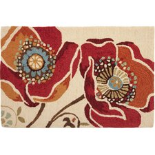 Moroccan Red Novelty Rug