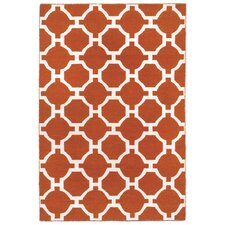 Assisi Tile Red Indoor/Outdoor Area Rug