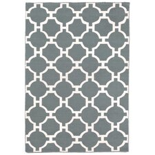 Assisi Tile Grey Indoor/Outdoor Area Rug