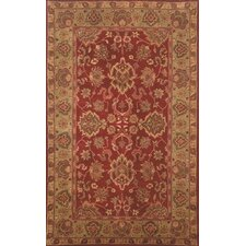 Petra Agra Red Rug