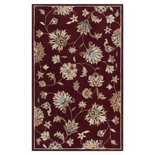Kingston Maroon Rug