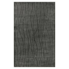 Wave Pewter Rug