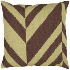 <strong>Surya</strong> Slanted Stripe Pillow