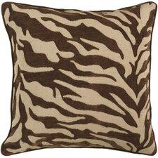 Eye-catching Zebra Patterned Throw Pillow