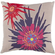 Bursting Flowers Pillow