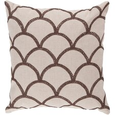 Overlapping Oval Pillow