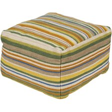 Stylish Stripe Pouf