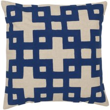 Intersecting Squares Pillow