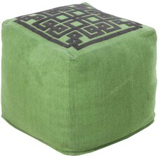 Beth Lacefield Glowing Pouf Ottoman