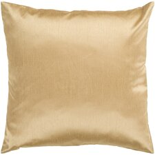 Solid Luxe Throw Pillow