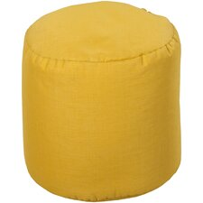 Simply Solid Outdoor Pouf