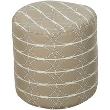 Connected Circles Pouf Ottoman
