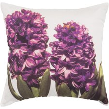 Hint of Hyacinths Pillow