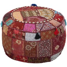 Tactful Tribal Pouf