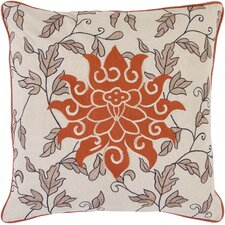 Sun and Leaves Pillow