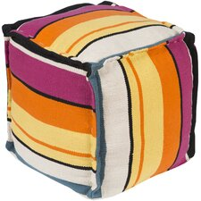 Slick Strip Pouf