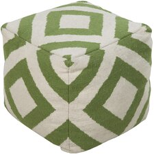 Delight Diamond Pouf Ottoman
