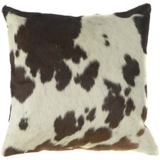 Charming Cow Hide Pillow