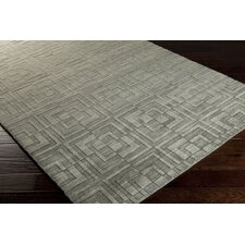 Etching Bay Leaf Rug