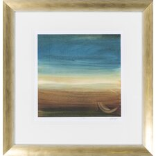 Abstract Horizon IV by Vision Studio Framed Graphic Art