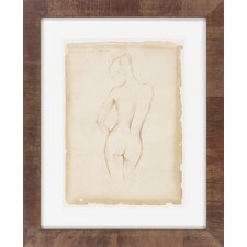 Antique Figure Study II by Vision Studio Framed Graphic Art