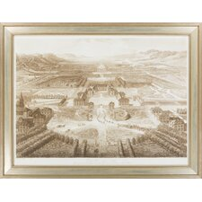 Bird's Eye View of Versailles by Vision Studio Framed Graphic Art