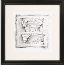 Drafting Elements IV by Vision Studio Framed Graphic Art